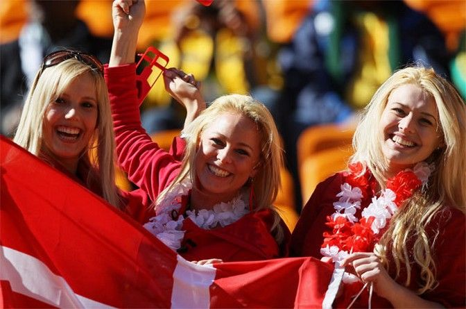 Images-Pictures-and-Photos-of-Beautiful-Sexy-and-Hot-Danish-girls-Denmark-Female-Fans-In-World-Cup
