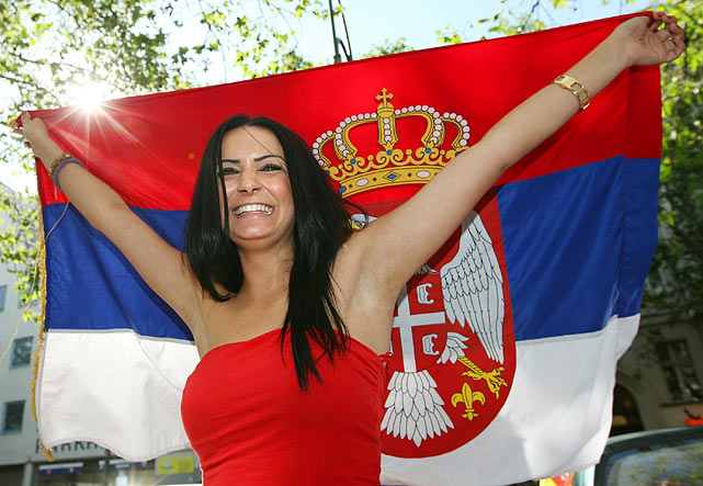 Images-Pictures-and-Photos-of-Beautiful-Sexy-and-Hot-Serbian-girls-Serbia-Female-Fans-In-World-Cup-2018
